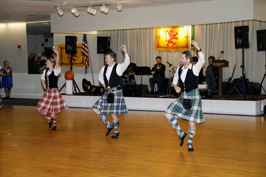 Scottish Country Dancers demonstration